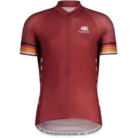 Maloja TornM. 1/2 Maillot de cyclisme à manches courtes Homme, red monk